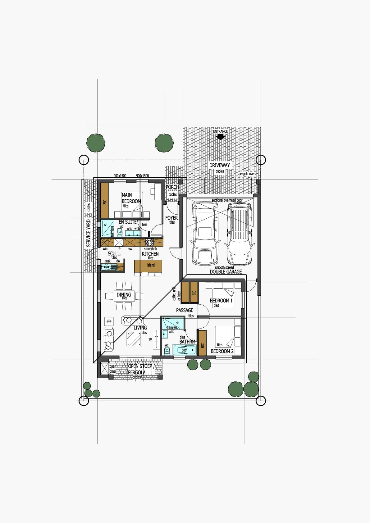 Homes Unit Layout - Type A