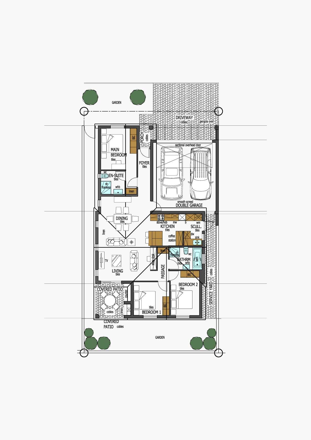 Homes Unit Layout - Type B