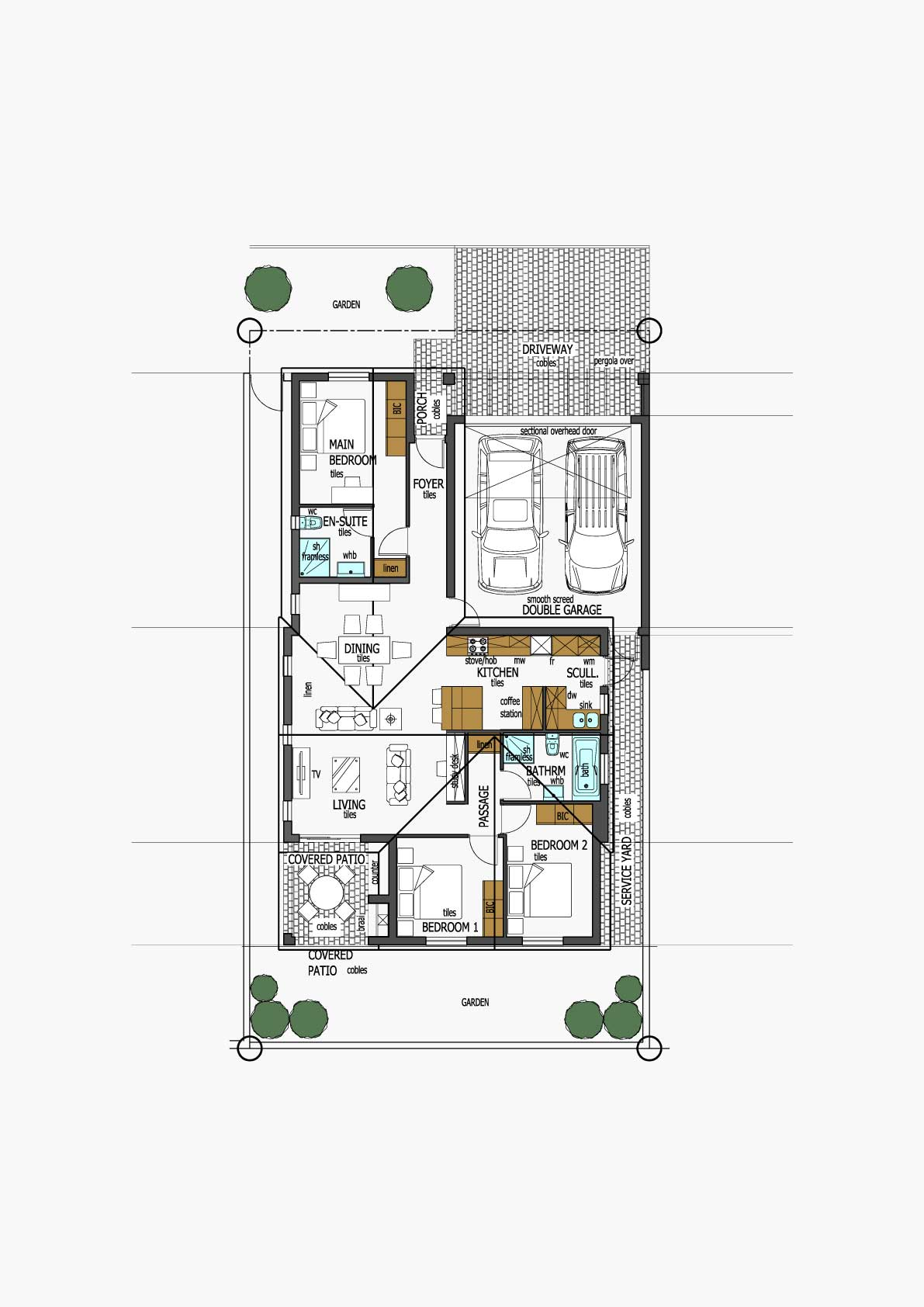 Homes Unit Layout - Type B