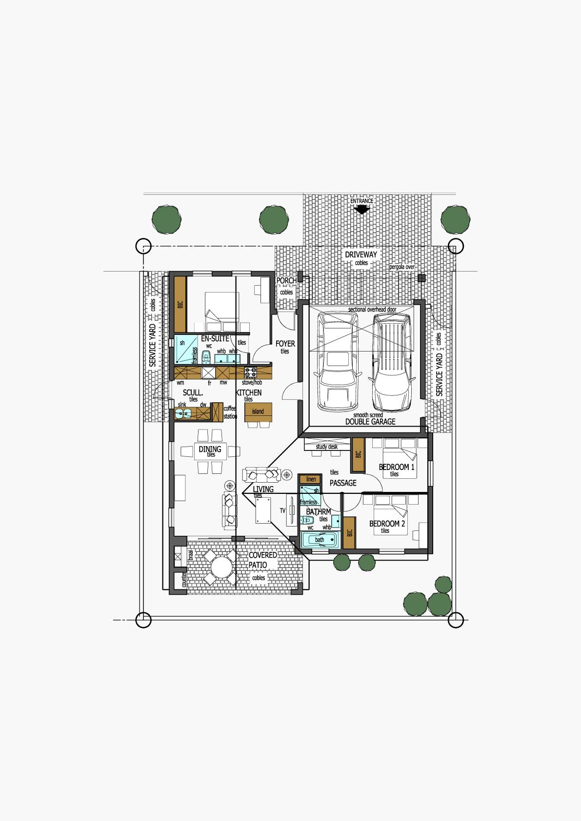 Homes Unit Layout - Type C