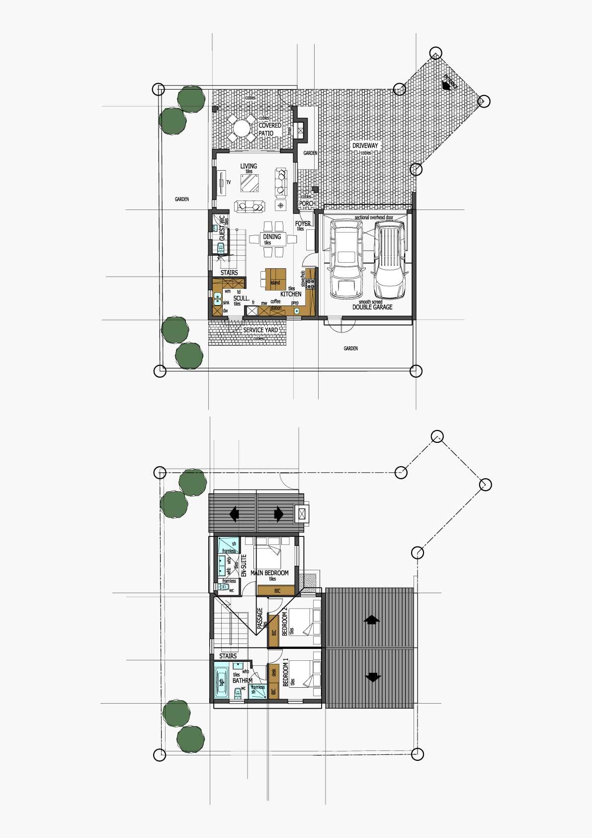 Homes Unit Layout - Type D