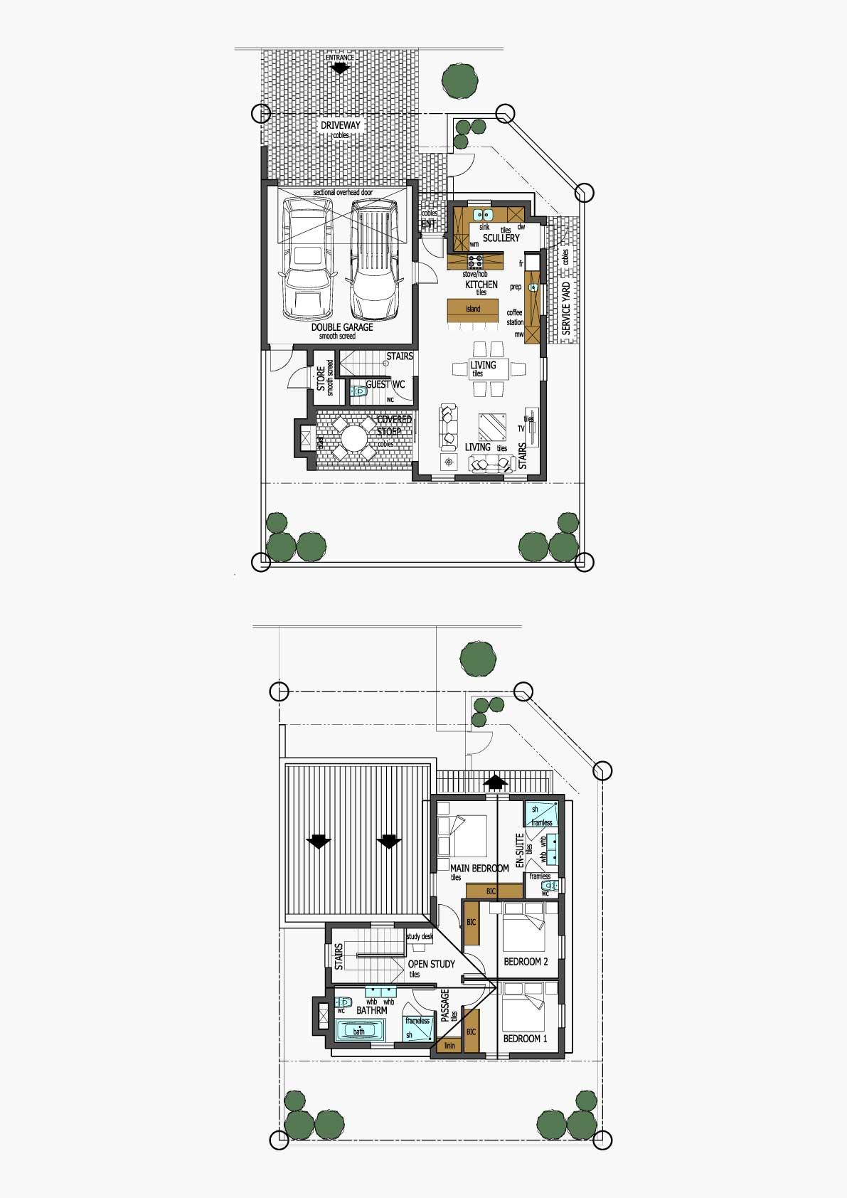 Homes Unit Layout - Type E