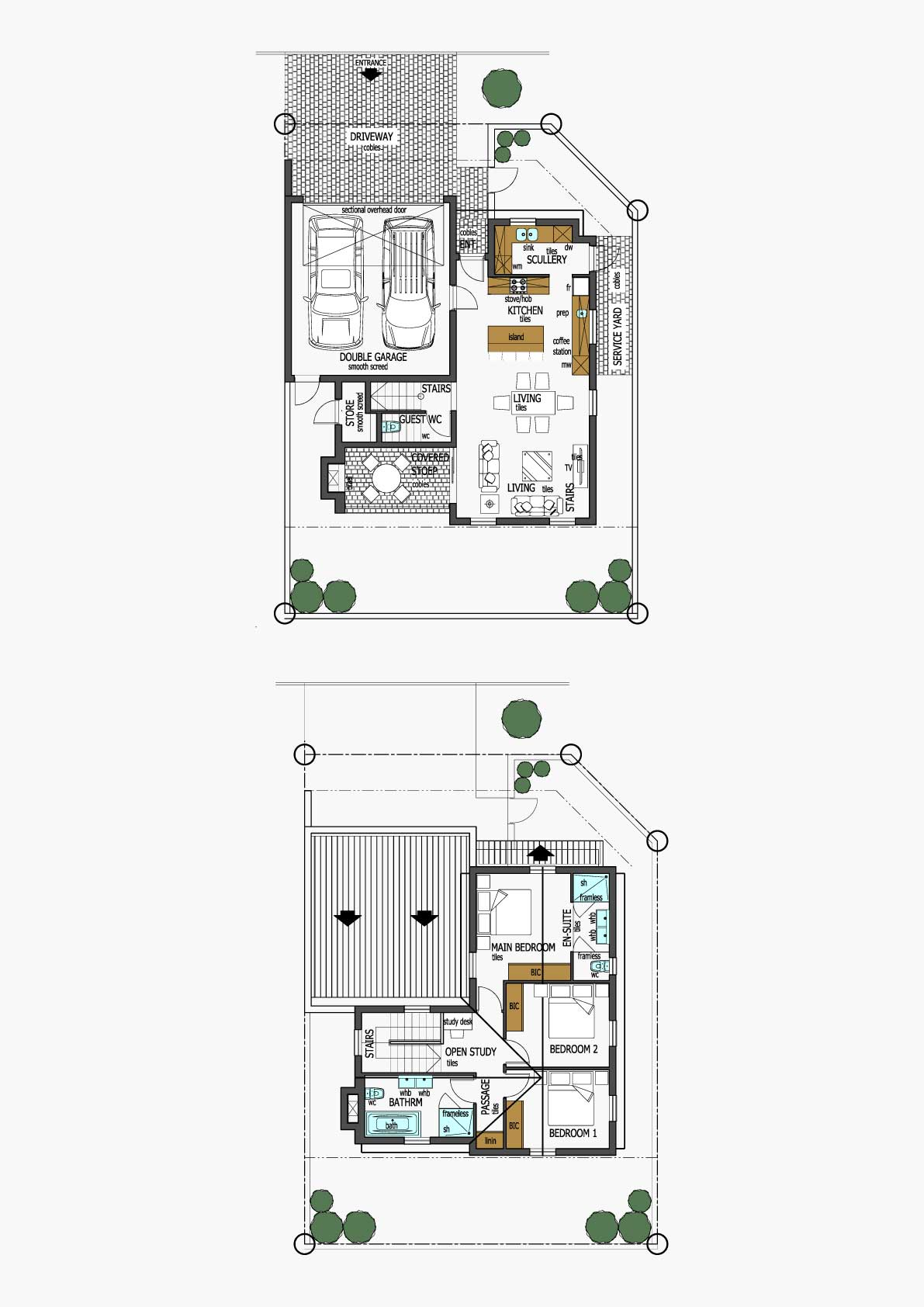 Homes Unit Layout - Type E