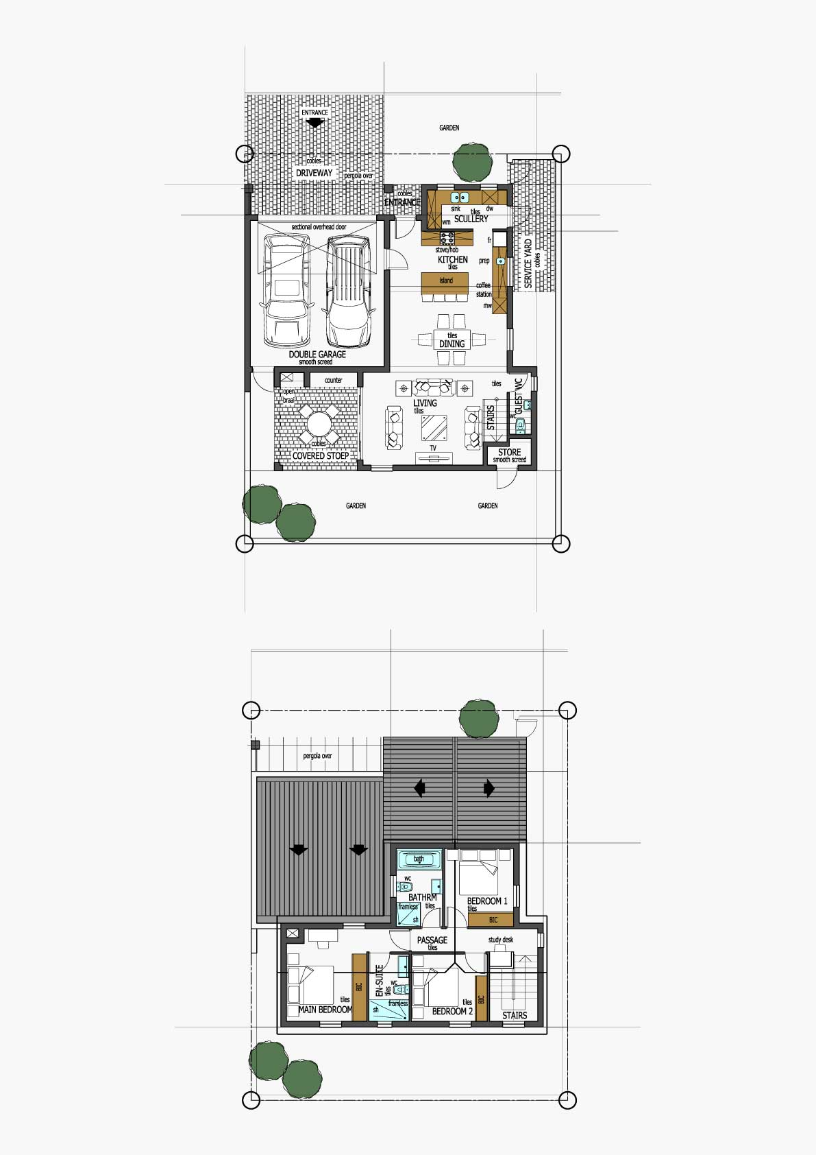 Homes Unit Layout - Type F