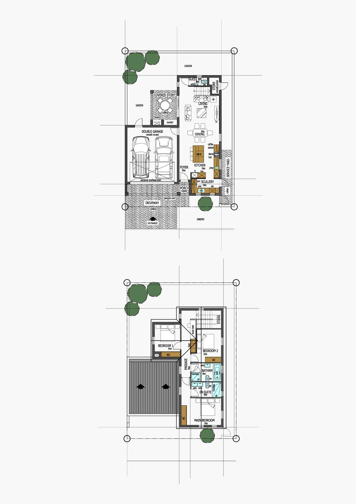 Homes Unit Layout - Type G