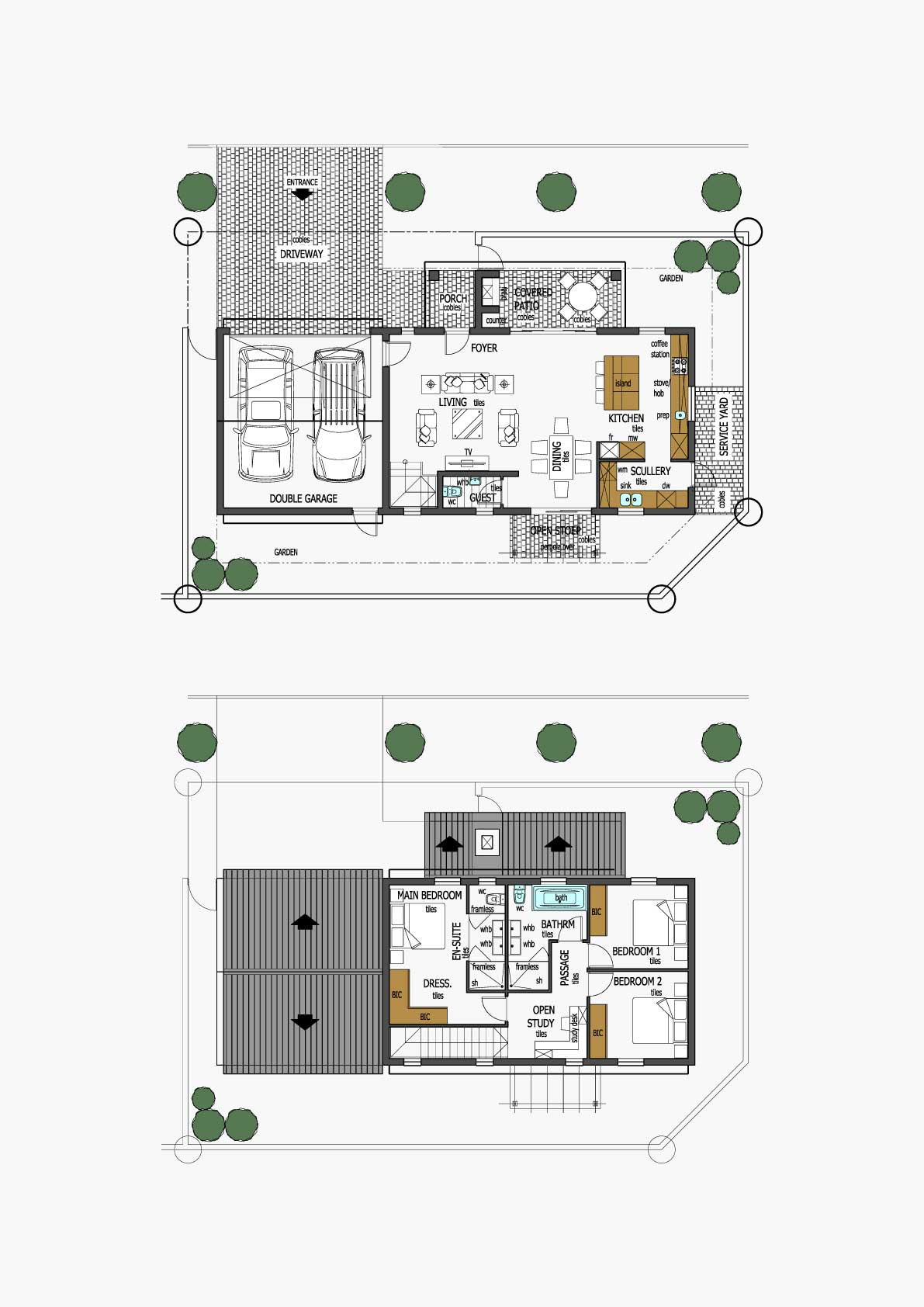 Homes Unit Layout - Type H
