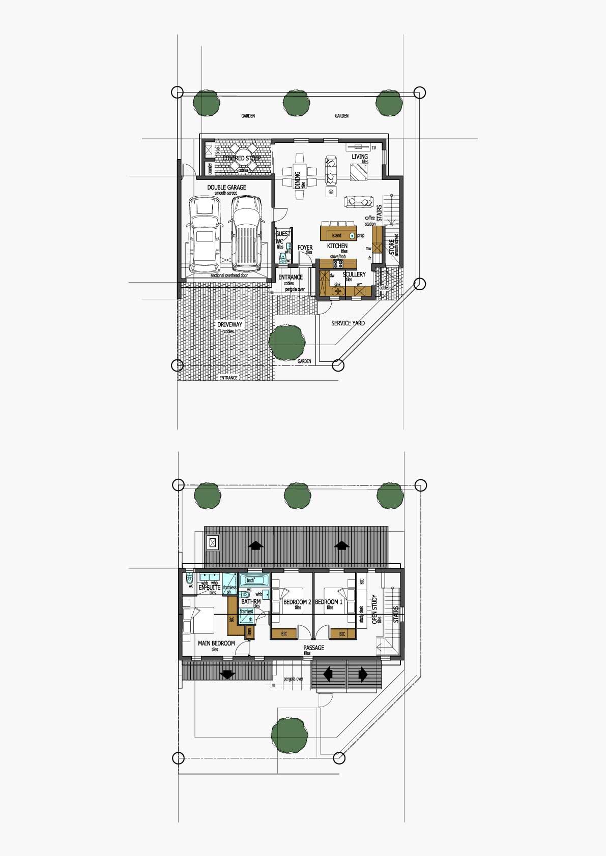 Homes Unit Layout - Type J
